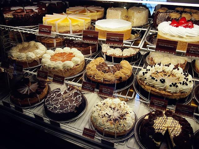 Endereços do Cheesecake Factory em Miami e Orlando