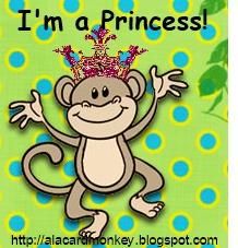 A La Card Monkey Princess