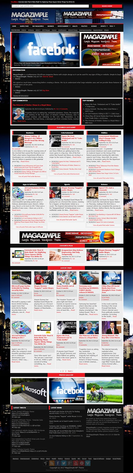 Jasa Design Website Portal Berita Termurah | Menuu.id