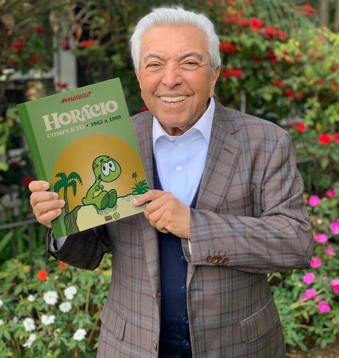 Mauricio de Sousa lança Horácio Completo pela Editora Pipoca & Nanquim