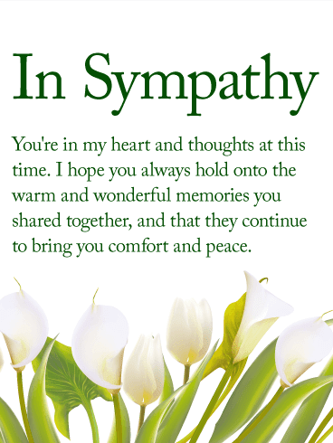 Condolence Messages for Colleague with Images