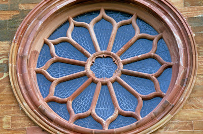 Rosette Window in St. Magnus' Cathedral