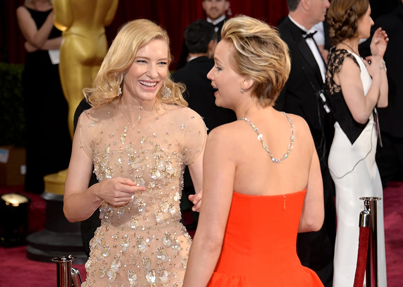 Cate Blanchett and Jennifer Lawrence
