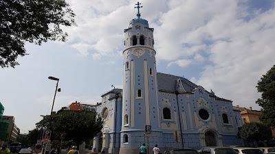 chiesa blu