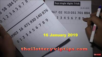 Thai lottery king VIP 3up Set Regular Pass Trick 16 January 2019