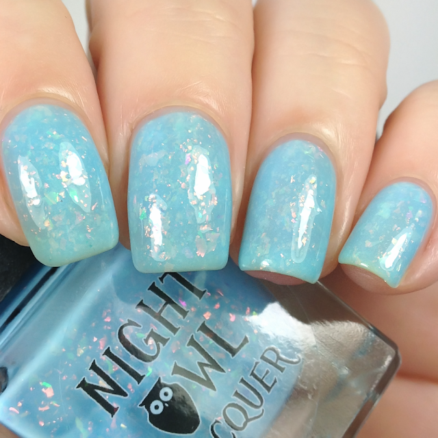 Night Owl Lacquer-Anyone Else Feel Like a Rainbow