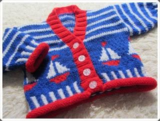 Örgü Bebek Hırka Örnekleri 2
