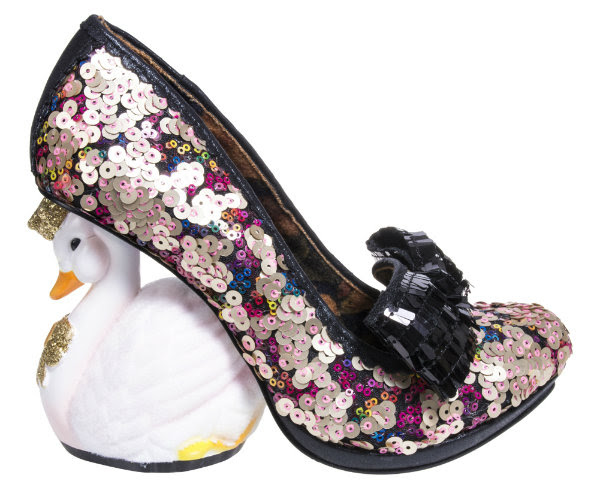 Irregular Choice savan swan navy