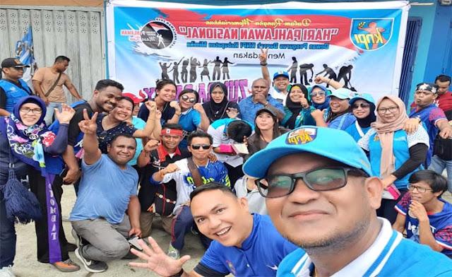 Semarak Peringatan Hari Pahlawan bersama KNPI