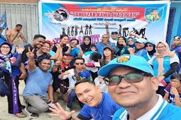 Semarak Peringatan Hari Pahlawan KNPI Timika Menyelenggarakan Jalan Sehat dan Zumba Party