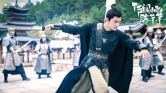 Back with Another Time-Travel Drama, Zhao Lusi Enters a Fictional World in The Romance of Tiger and Rose