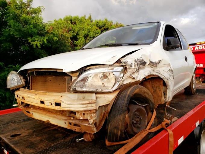 Após acidente na PR317 em Toledo, homem é preso por embriaguez ao volante