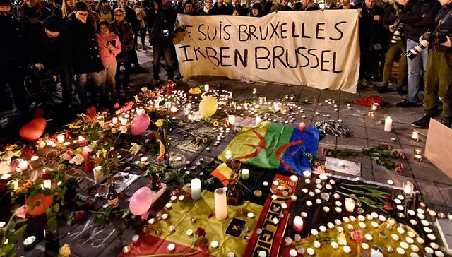 Bruselas, velas