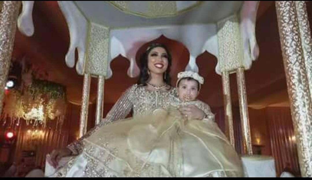 بالصور: مفاجآت وهدايا ثمينة في حفل عقيقة ابنة باطمة بمراكش