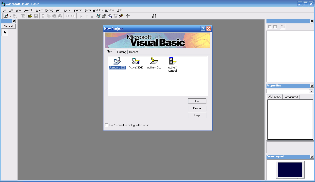 cara menambah tools box di visual basic 6.0 portabel