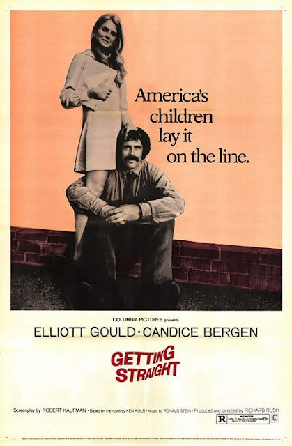 Getting Straight Film Poster - Richard Rush, ,1970