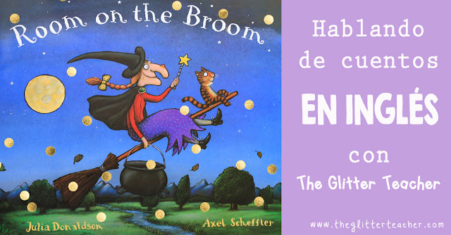 Vídeo review del cuento en inglés Room on the Broom de Julia Donaldson