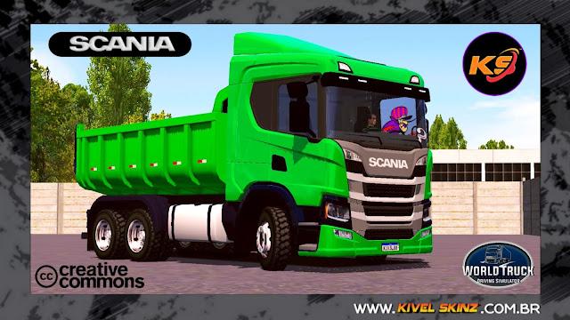 SCANIA P320 CAÇAMBA - VERDE QUALIFICADA