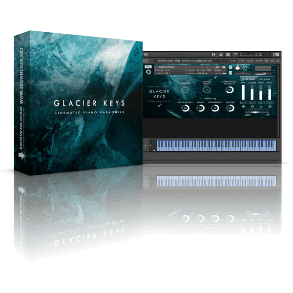 Fracture Sounds Glacier Keys KONTAKT Library