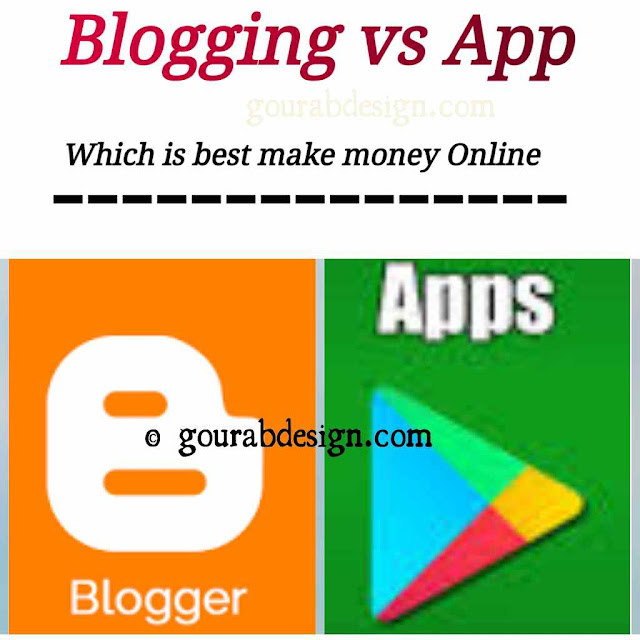 blogging vs app development which is the best