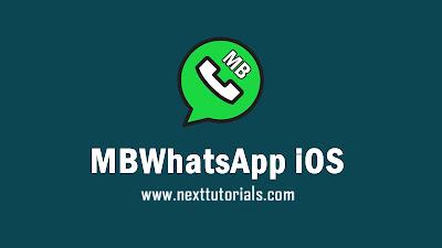 download MBWhatsApp iOS v8.52 Anti-Expired,mbwa ios v8.52,aplikasi wa mod terbaik 2020, tema whatsapp mod keren 2020, mbwhatsapp ios terbaru 2020,