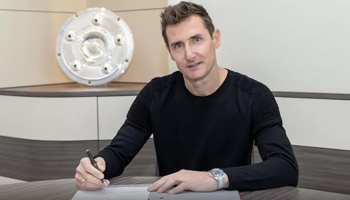 OFFICIAL: Bayern legend Klose named Flick's assistant coach on a deal until 2021