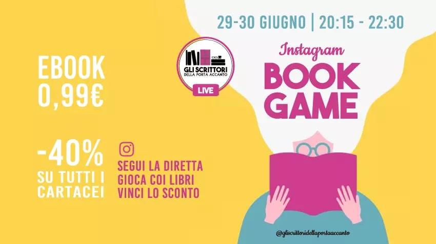 Instagram book game: gioca coi libri e vinci lo sconto