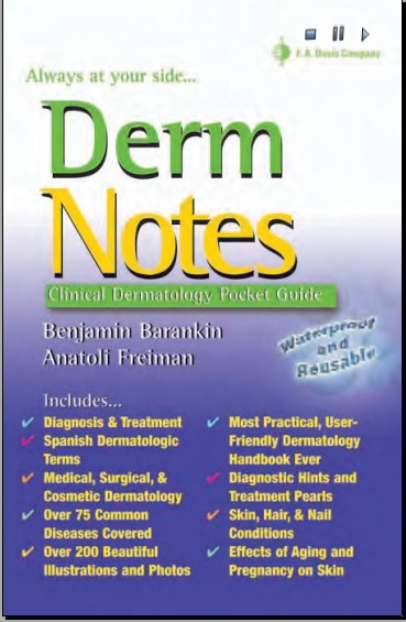 Derm notes Dermatology Clinical Pocket Guide [PDF] | Free Medical Books