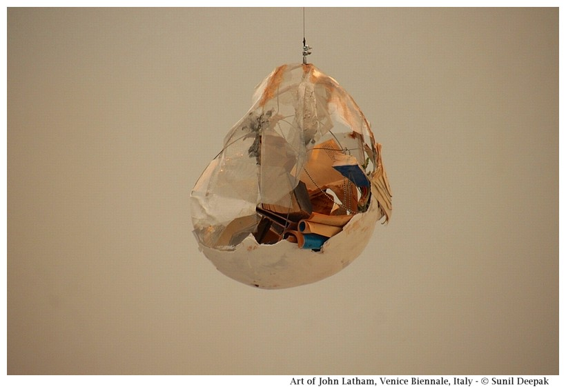 Art of John Latham at Venice Biennale, Italy - Images by Sunil Deepak