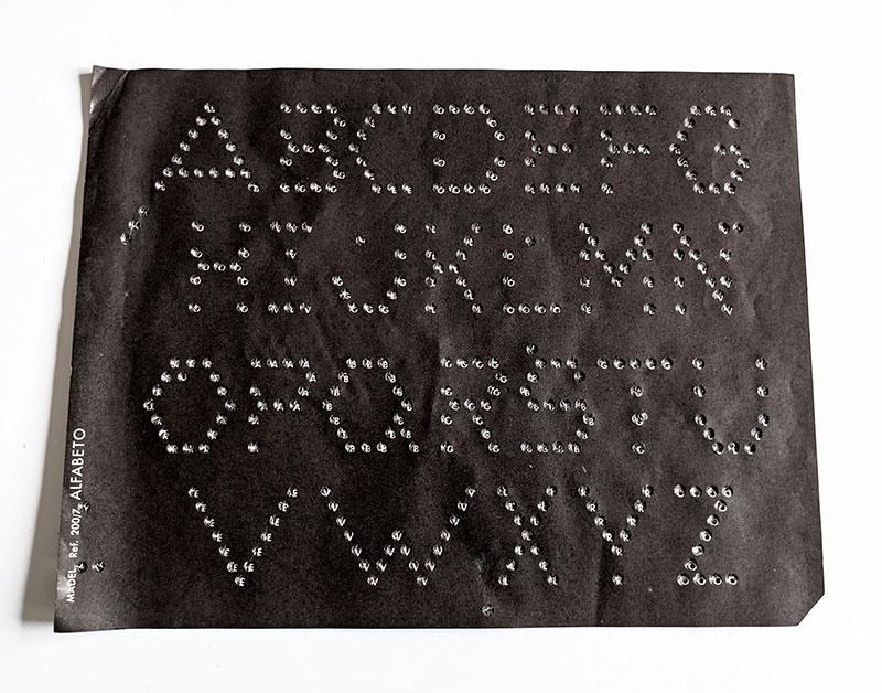 Lumirama Madel lámina 7 Alfabeto