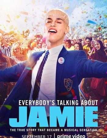 Everybody's Talking About Jamie (2021) HDRip Dual Audio [ Hindi - English ] Movie Subtitles Download - KatmovieHD