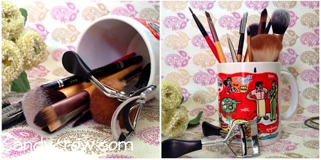 ideas to organise brushes