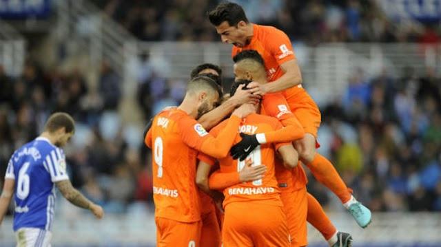 Real Sociedad 0x2 Málaga: Um time em frangalhos
