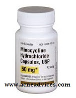 how long does minocycline take to work for acne