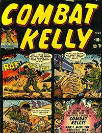 Read Combat Kelly (1951) comic online