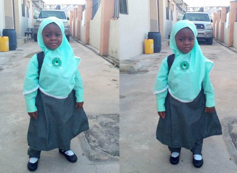 Spread the word: Little Miss Khadija is missing in Abuja