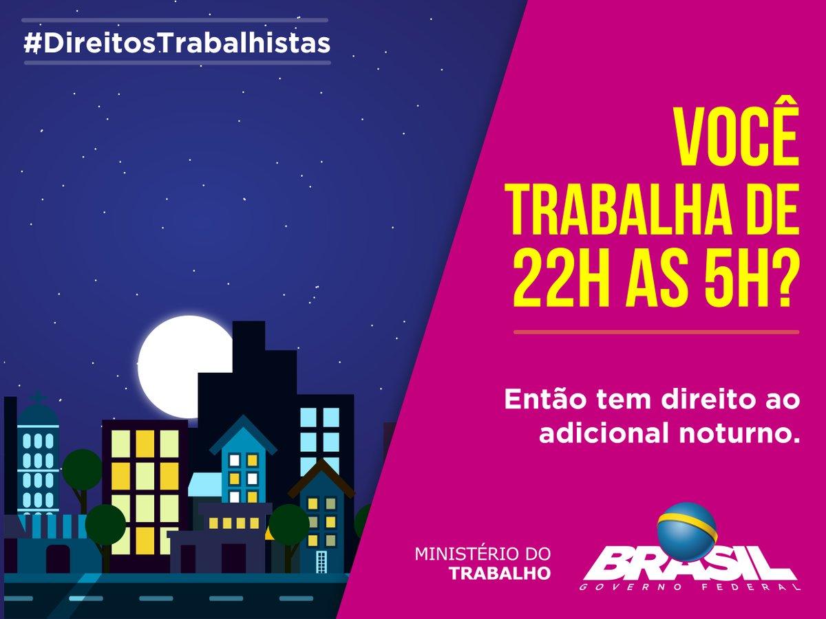 Adicional Noturno 2021