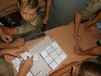 кадети збирають пазли собору Софії Київської