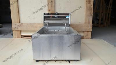 bếp chiên nhúng đơn dùng điện
