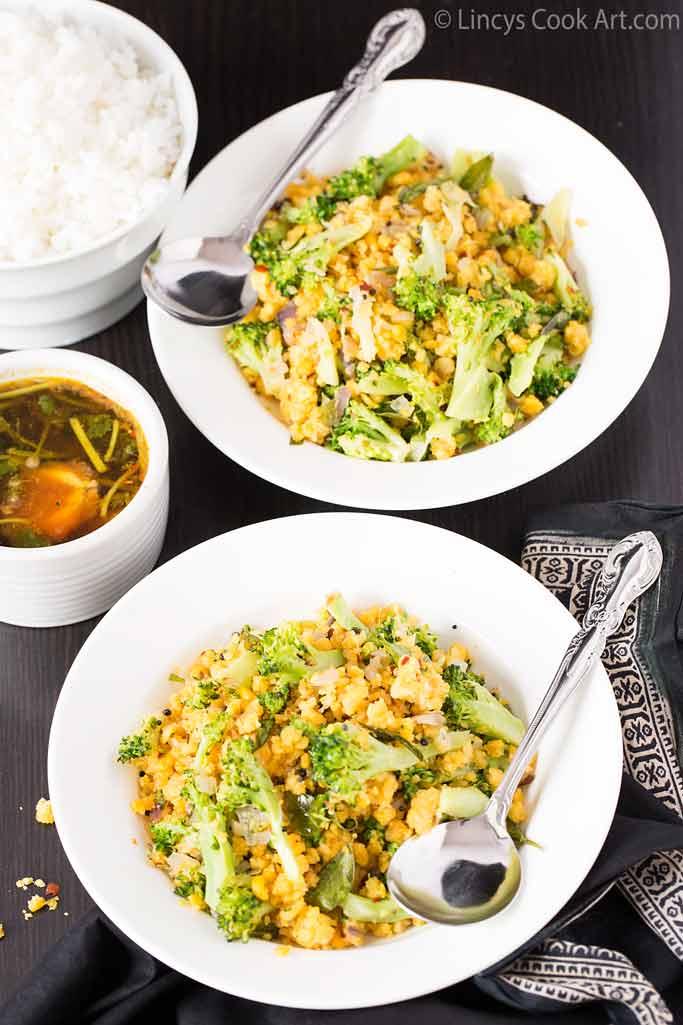 Broccoli Usili recipe