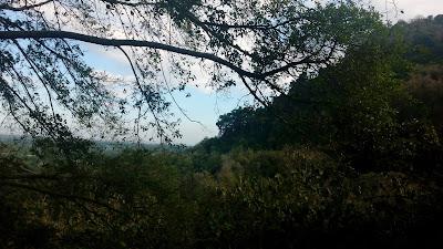 Pemandangan Gunung Srawet