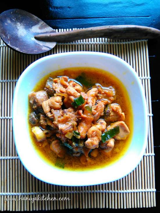 Resep Tumis Ayam Bumbu Kari