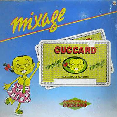 """copertina di Mixage '87 con la """"cuccard"""""""