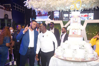 Top Oil & Gas Billionaires celebrates with Prophet Jeremiah Omoto Fufeyin at 50
