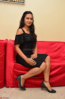 South Actress Amulya in short black dress at Kalamandir Foundation 7th anniversary Celebrations ~  Actress Galleries 042.JPG