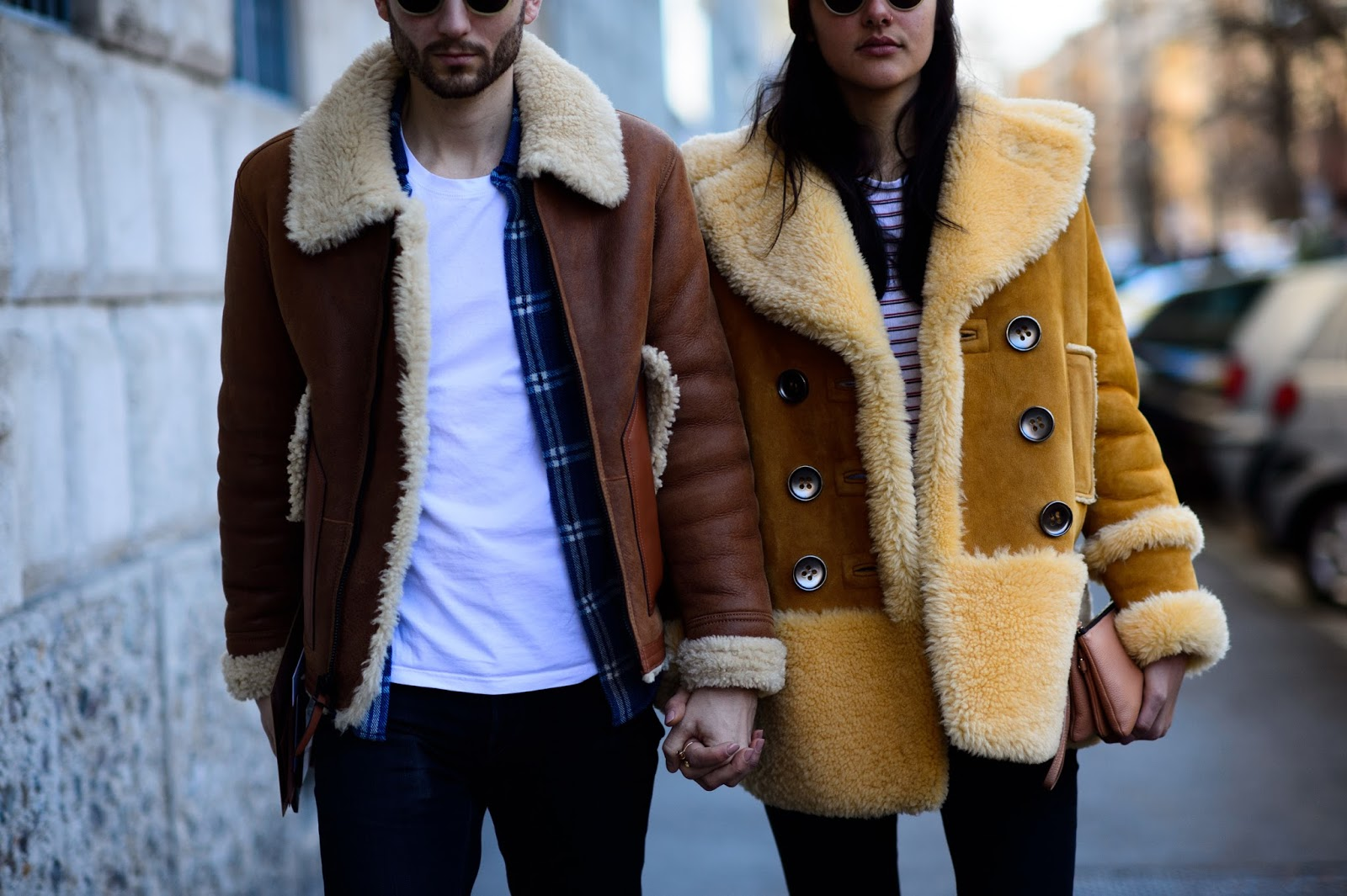Trend Report | Shearling Coats for Both of You