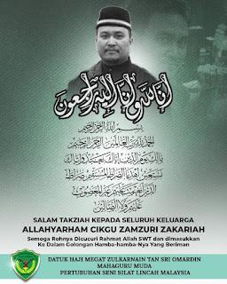 AllahyarhamZamzuriZakariah