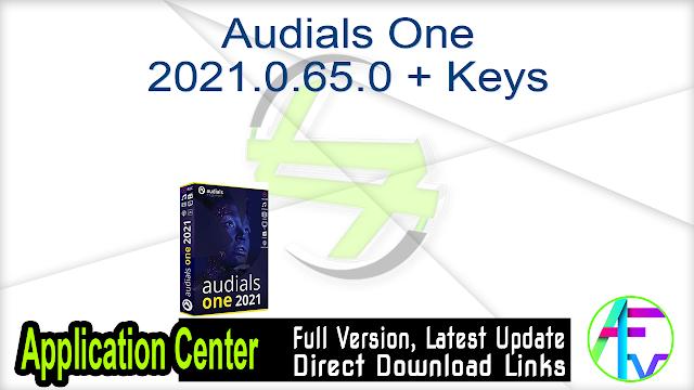 Audials One 2021.0.65.0 + Keys