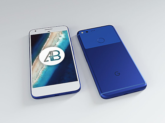 mockup google pixel