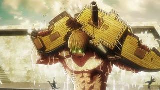 進撃の巨人『九つの巨人 進撃の巨人』 | エレン・クルーガー巨人化 | Attack on Titan | Nine Titan | Hello Anime !